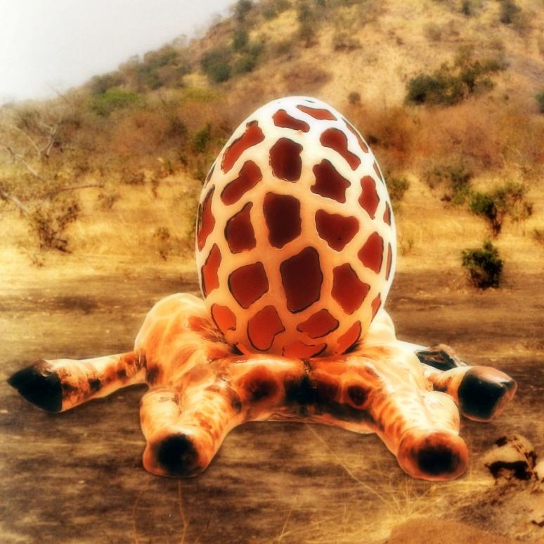 The Giraffe Egg - SOLD.